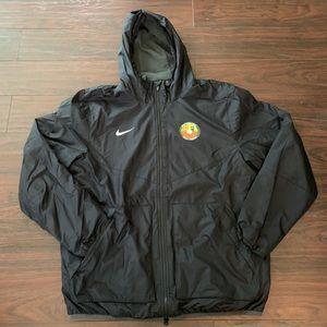 """Nike windbreaker """"uno futbol base fleece lined XL"""